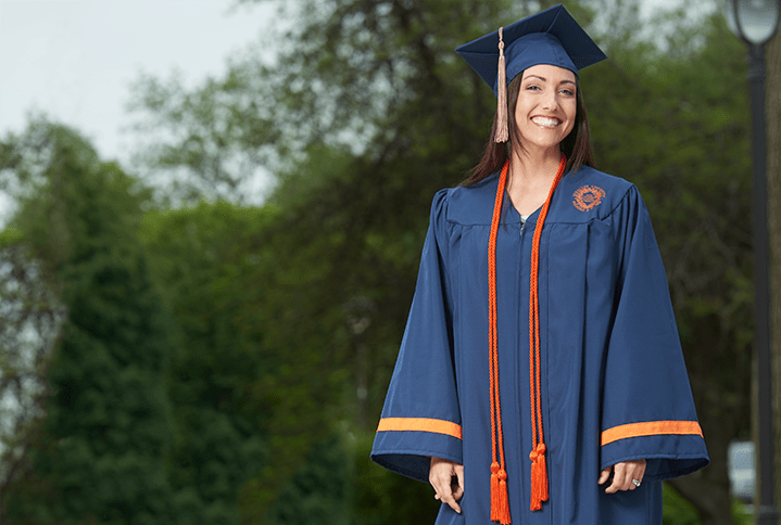 Recycled Material Cap and Gown - Graduation Resources - Herff Jones