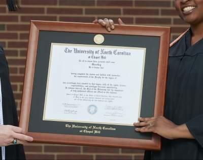 Diploma in Frame