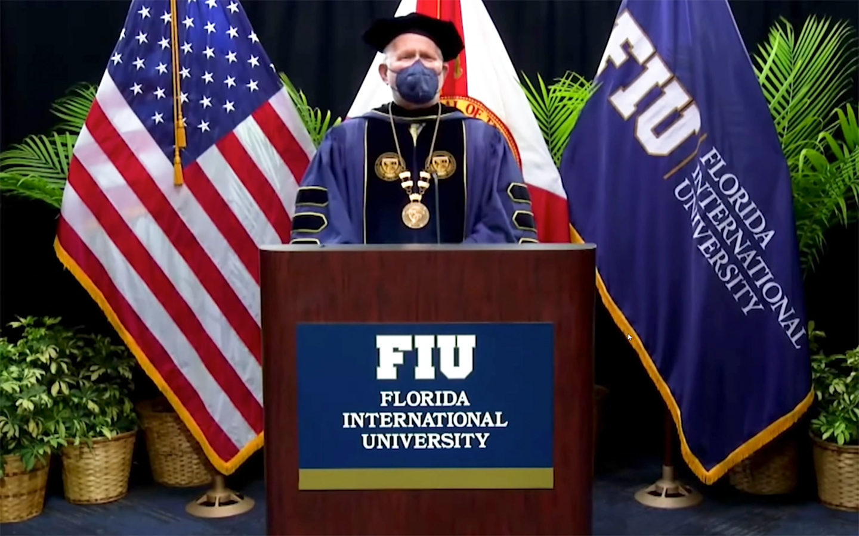 Florida International University Holds A Virtual Graduation Ceremony