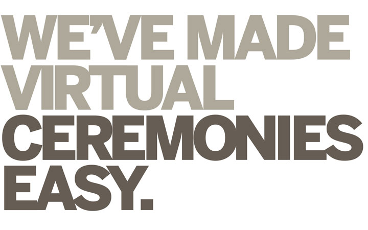 Virtual ceremonies Made Simple