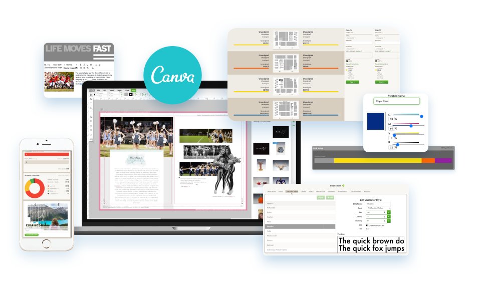 eDesign and Canva