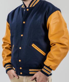 blue yellow jacket