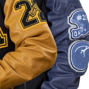 letter jacket details